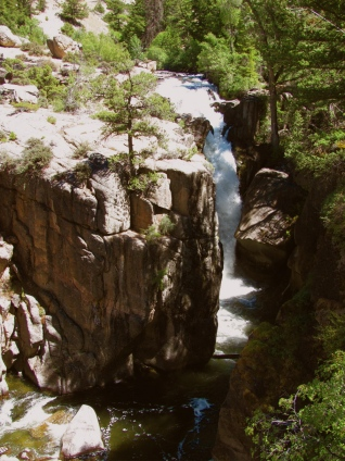 Shell Falls, Bighorn National Forest, Wyoming