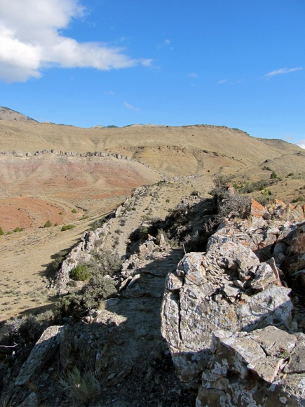 KKG Formation, Block Mountain, Dillon, MT